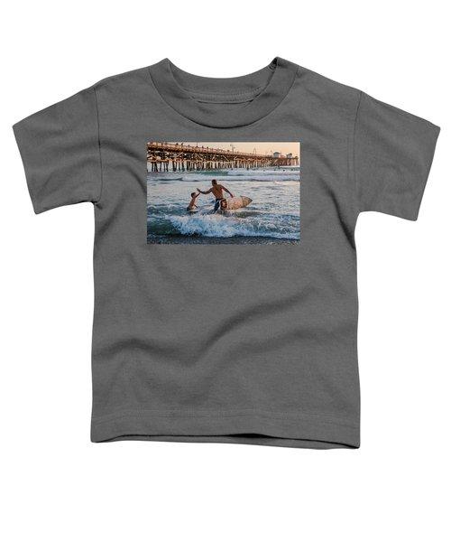 Surfboard Inspirational Toddler T-Shirt