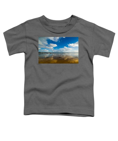Surfing The Sky Toddler T-Shirt