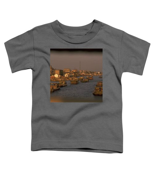 Toddler T-Shirt featuring the photograph Suzhou Grand Canal by Travel Pics