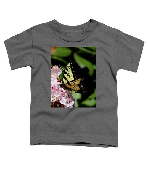 Swallow Tail On Mountain Laurel Toddler T-Shirt