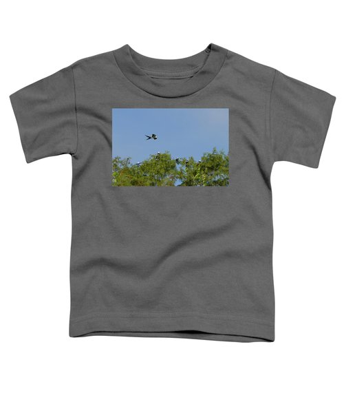 Swallow-tailed Kite Flyover Toddler T-Shirt