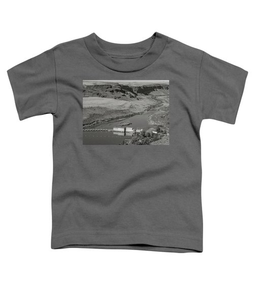 Swan Falls Dam Toddler T-Shirt