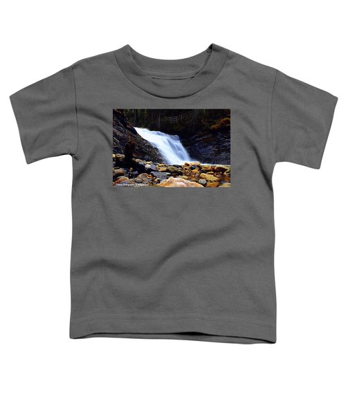 Sweet Creek Falls , Wa Toddler T-Shirt