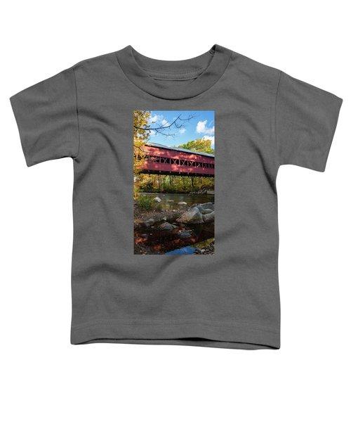Swift River Covered Bridge Toddler T-Shirt