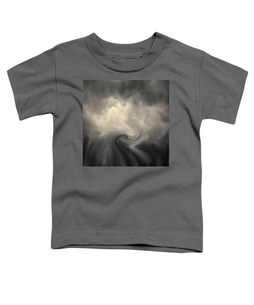 Swirl Wave Vi Toned Toddler T-Shirt