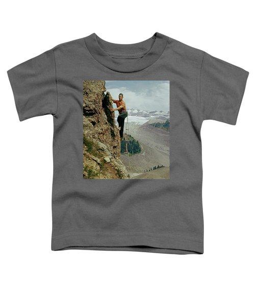 T-902901 Fred Beckey Climbing Toddler T-Shirt