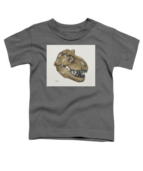 T. Rex Skull 2 Toddler T-Shirt