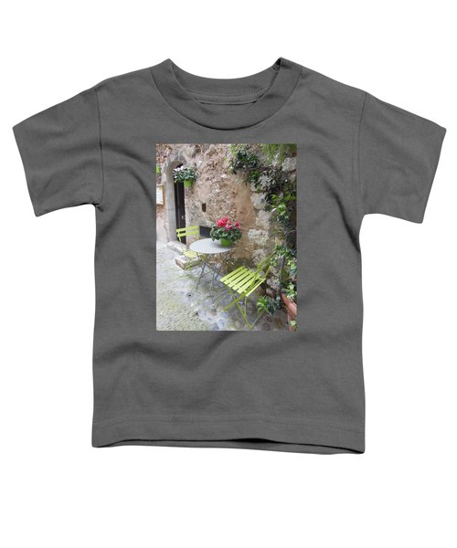Table For Two Toddler T-Shirt