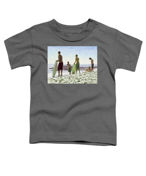 Table Rock Skimboarders Toddler T-Shirt