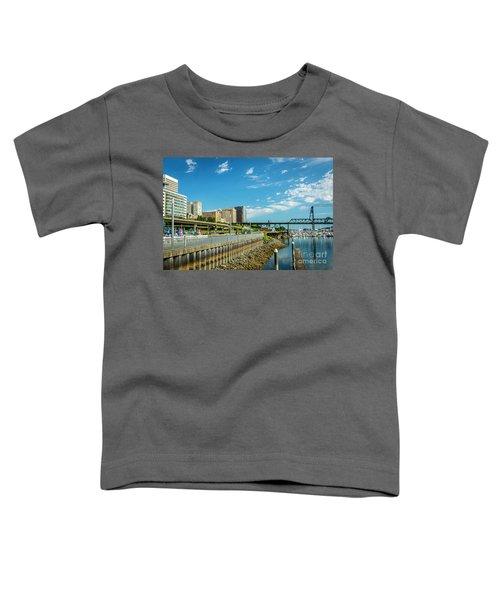 Tacoma And 11th Street Bridge Toddler T-Shirt