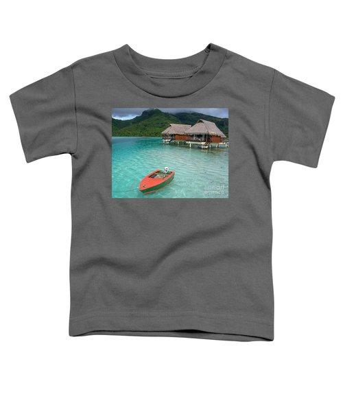 Tahitian Boat Toddler T-Shirt