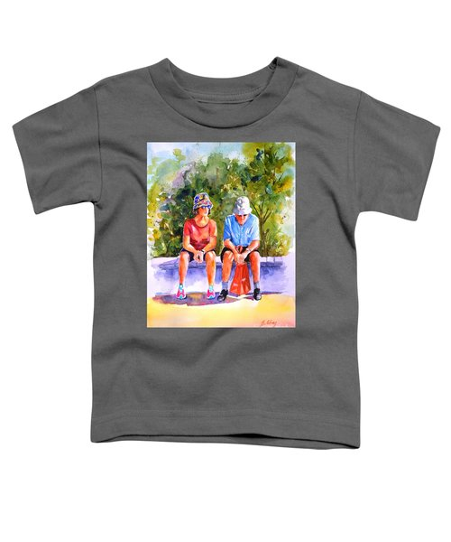 Taking A Rest - 2 Toddler T-Shirt