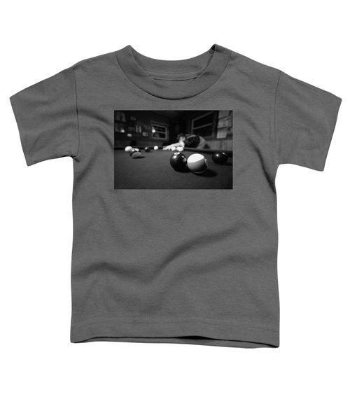 Taking His Shot Toddler T-Shirt