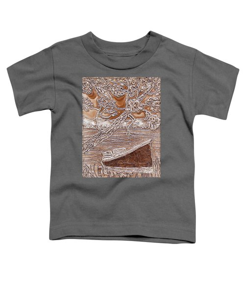 Taking In The View Along The Paddle Toddler T-Shirt
