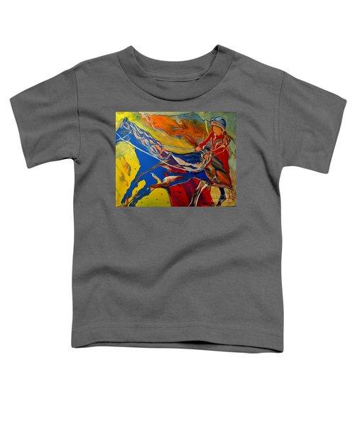 Taking The Reins Toddler T-Shirt
