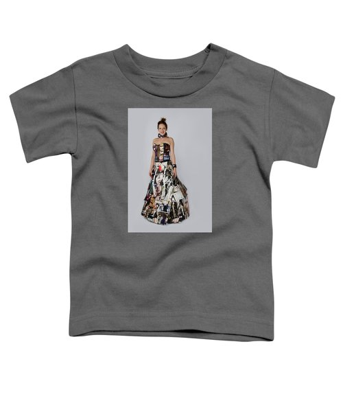 Megan In Gown Toddler T-Shirt