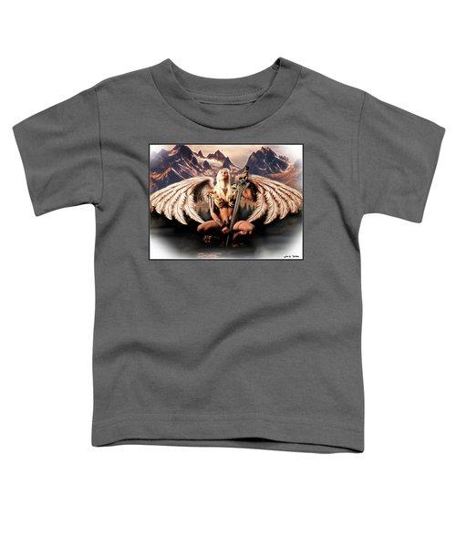 Talon Of The Hawk Woman Toddler T-Shirt