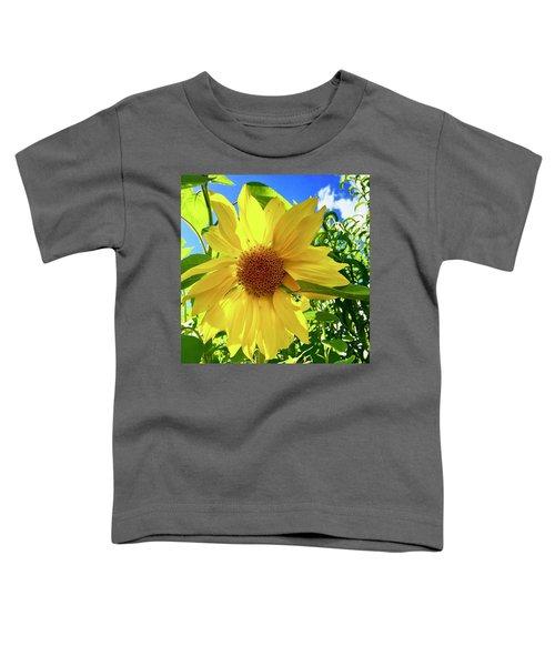 Tangled Sunflower Toddler T-Shirt