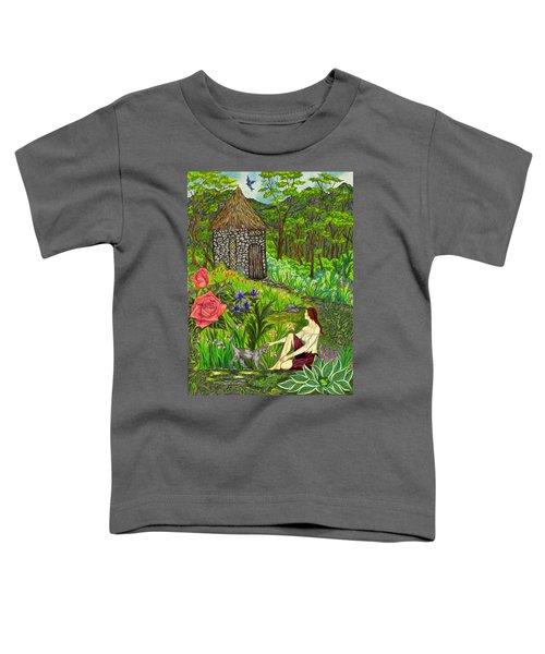 Tansel's Garden Toddler T-Shirt