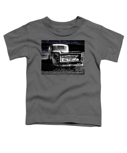 Taos Dodge B-w Toddler T-Shirt