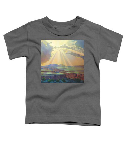 Taos Gorge God Rays Toddler T-Shirt
