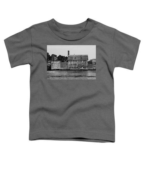 Tarr And Wonson Paint Manufactory In Black And White Toddler T-Shirt