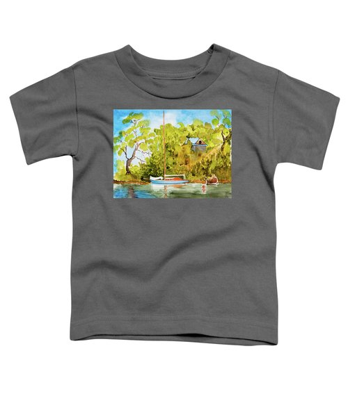 Tasmanian Yacht 'weene' 105 Year Old A1 Design Toddler T-Shirt