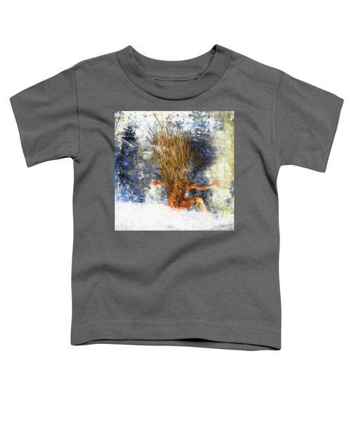 Tatoo Bird Toddler T-Shirt