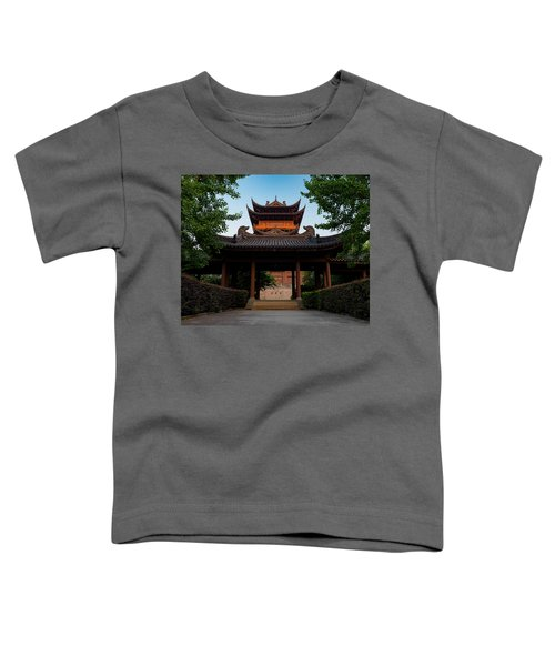 Tea House In The Morning I Toddler T-Shirt