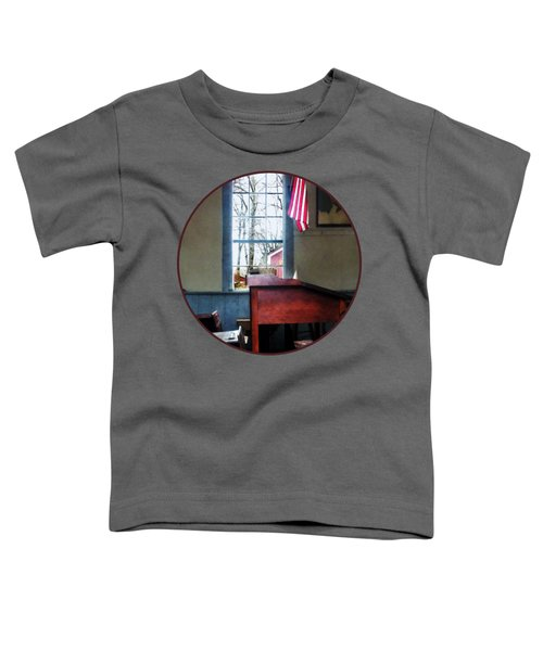 Teacher - Schoolmaster's Desk Toddler T-Shirt