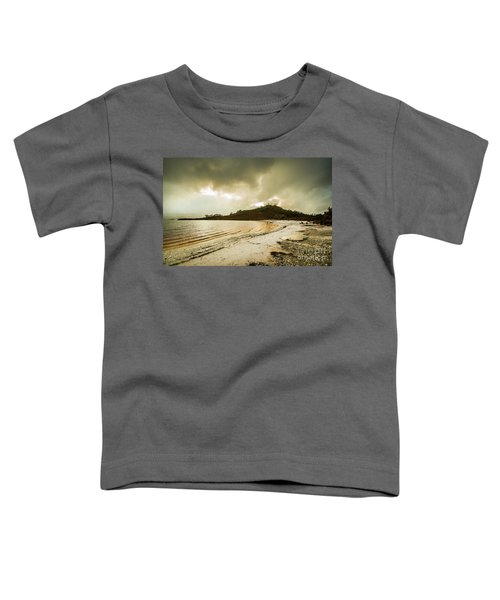 Teds Beach At Dusk Toddler T-Shirt