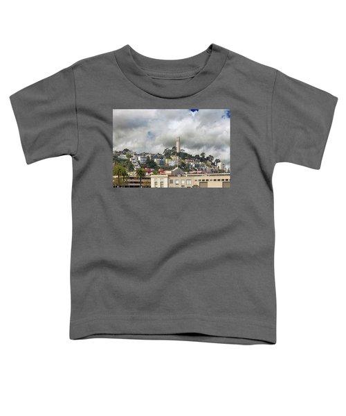 Telegraph Hill Neighborhood Homes In San Francisco Toddler T-Shirt