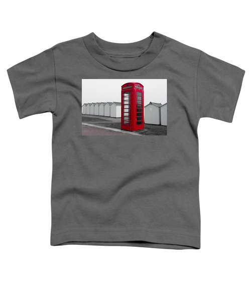 Telephone Box By The Sea I Toddler T-Shirt