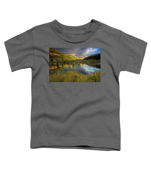Telluride Valley Floor Toddler T-Shirt