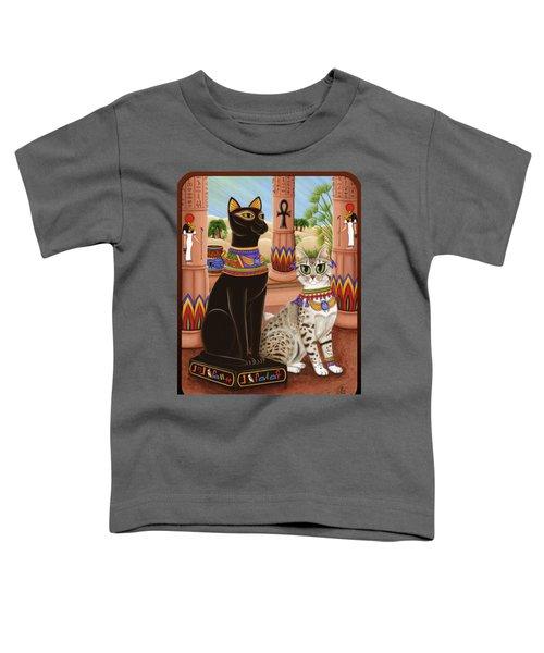 Temple Of Bastet - Bast Goddess Cat Toddler T-Shirt