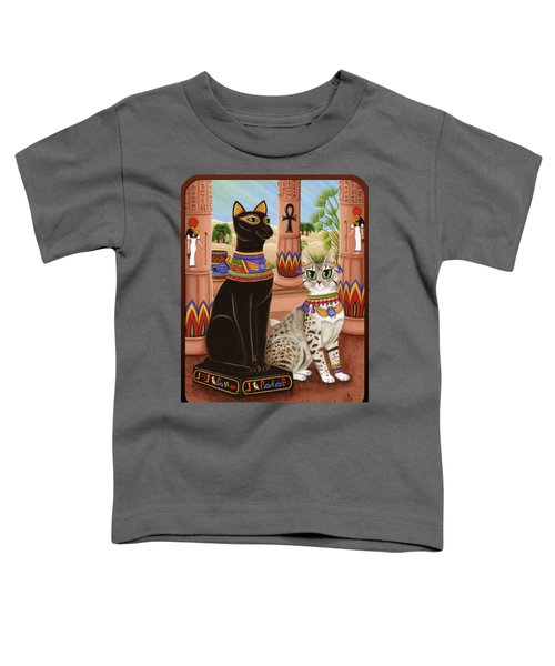 Temple Of Bastet - Bast Goddess Cat Toddler T-Shirt