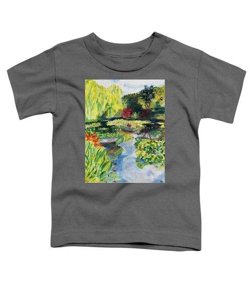 Tending The Pond Toddler T-Shirt