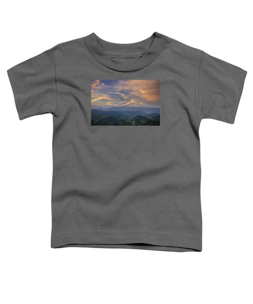 Tennessee Mountains Sunset Toddler T-Shirt