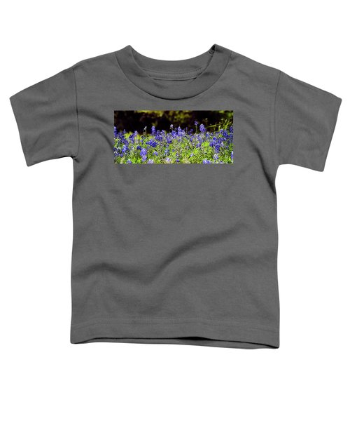 Texas Bluebonnets IIi Toddler T-Shirt