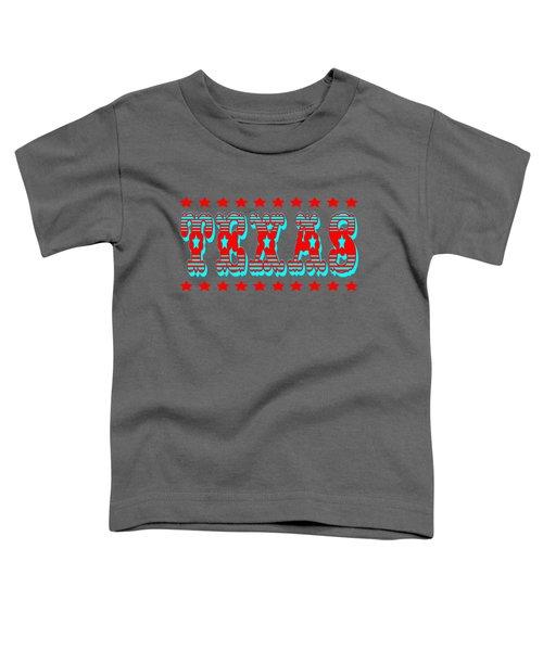 Texas Lone Star State Design Toddler T-Shirt