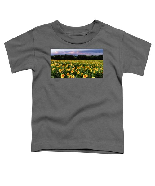 Texas Sunflowers Toddler T-Shirt