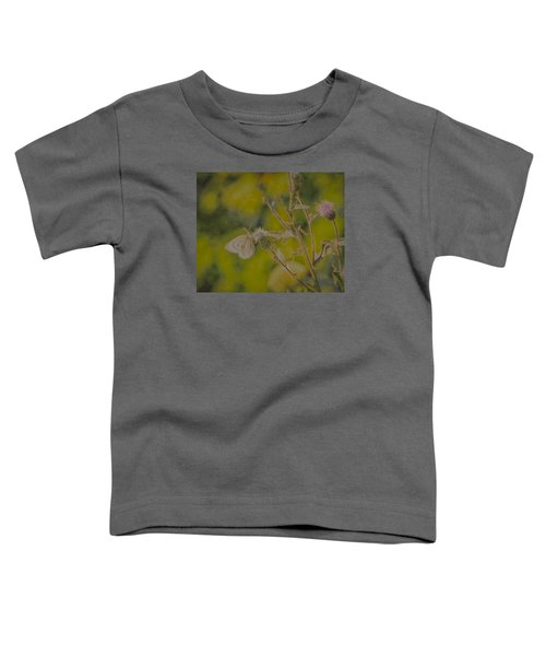 Textured Butterfly 1   Toddler T-Shirt