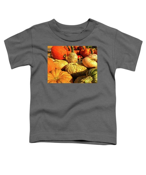 Textures Of Fall Toddler T-Shirt
