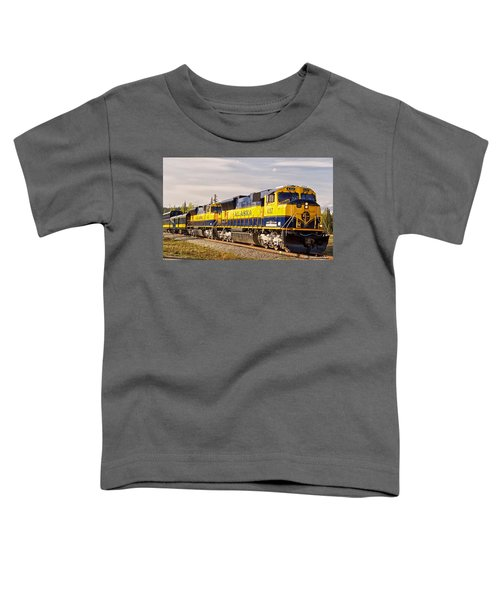 The Alaska Railroad Toddler T-Shirt