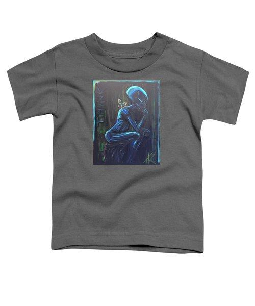 The Alien Thinker Toddler T-Shirt