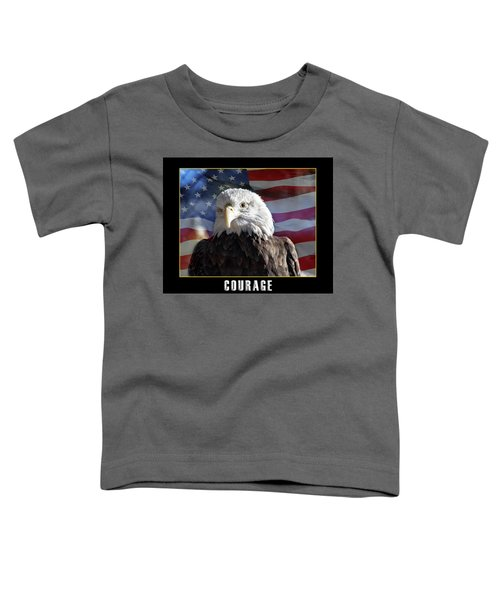 The American Bald Eagle Toddler T-Shirt