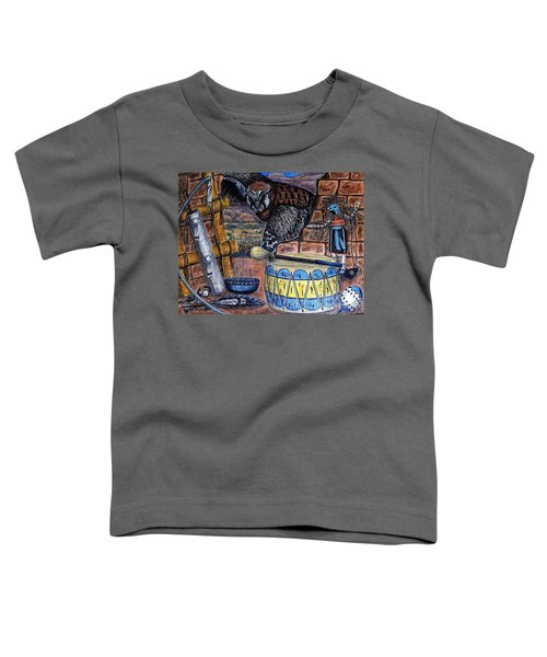 The Answer Comes Toddler T-Shirt