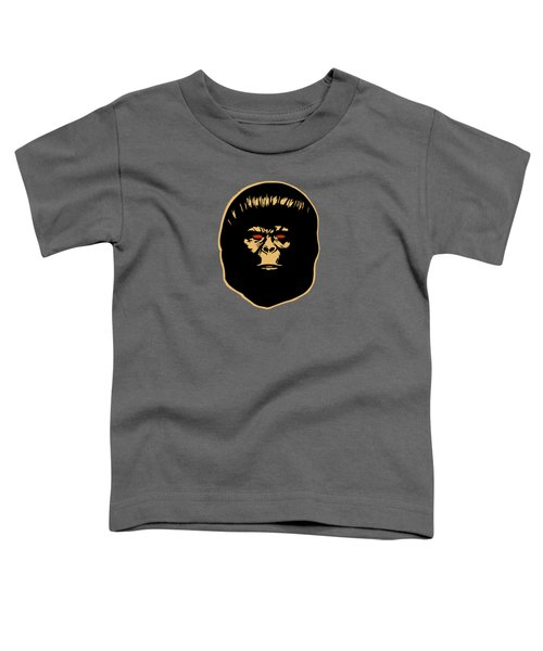 The Ape Toddler T-Shirt by Jurgen Rivera