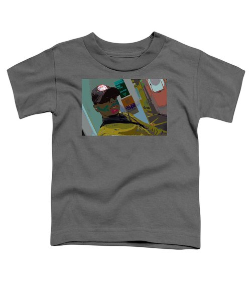 the artist - MARINE CORPORAL kenneth james Toddler T-Shirt