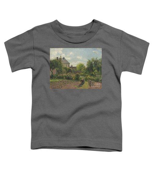 The Artist's Garden At Eragny Toddler T-Shirt